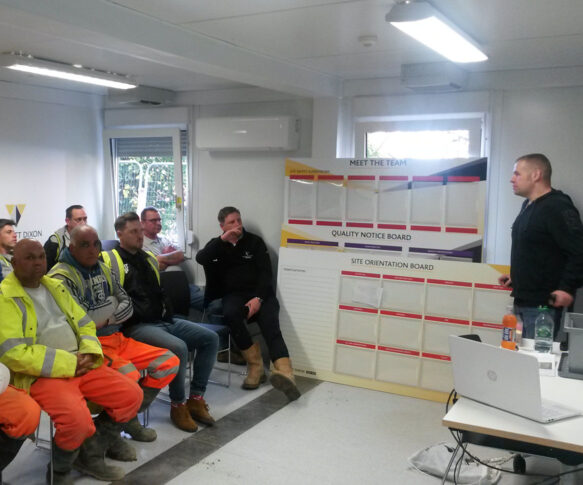 Construction Safety Speaking